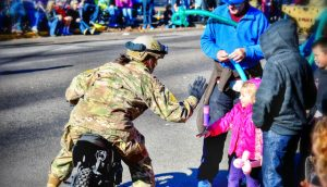 Veterans Day Parade by Quincy Casey