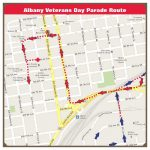 Albany Veterans Day Parade Route