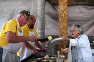 Albany Visitors Association, East Albany Lions Lumberjack breakfast