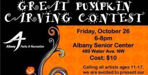 Pumpkin Carving & Monster Mash Dance @ Albany | Oregon | United States