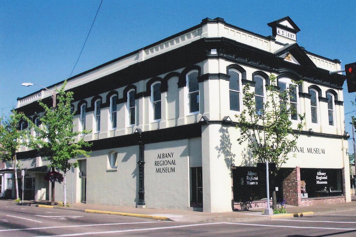 Photo of museum exterior.