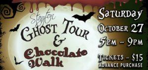 Stayton Ghost Tour & Chocolate Walk @ Brown House Event Center | Stayton | Oregon | United States