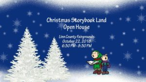 Christmas Storybook Land Open House @ Linn County Fair & Expo | Albany | Oregon | United States