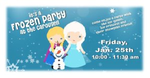 Frozen Party at the Carousel @ Historic Carousel & Museum, Albany | Albany | Oregon | United States