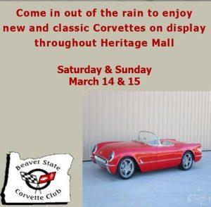 Corvette Show @ Heritage Mall | Albany | Oregon | United States