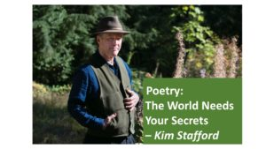 Poet Laureate Kim Stafford  Reading and Workshop @ LBCC | Albany | Oregon | United States