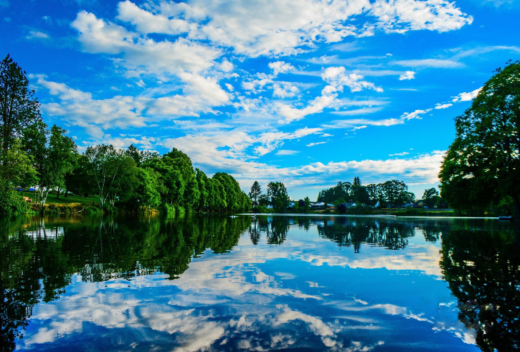 Image of Waverly Lake in Albany Oregon taken by AVA 2019 Photo Contest Winner Grand Champion David Maestes