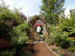 Photo of a 2013 Through the Garden Gate Tour in Albany Oregon