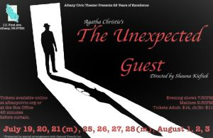 The Unexpected Guest @ Albany Civic Theater | Albany | Oregon | United States