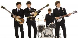 Photogrpah of Beatles Tribute band called the Fab Four