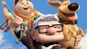 Cartoon poster for the animated movie Up