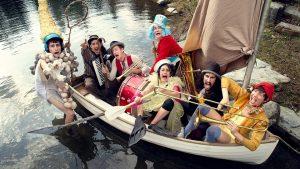 Flotsam! - Circus Boat @ Bryant Park | Albany | Oregon | United States