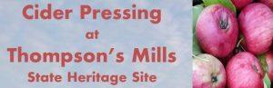 Cider Pressing at Thompson's Mills @ Thompson's Mills | Shedd | Oregon | United States