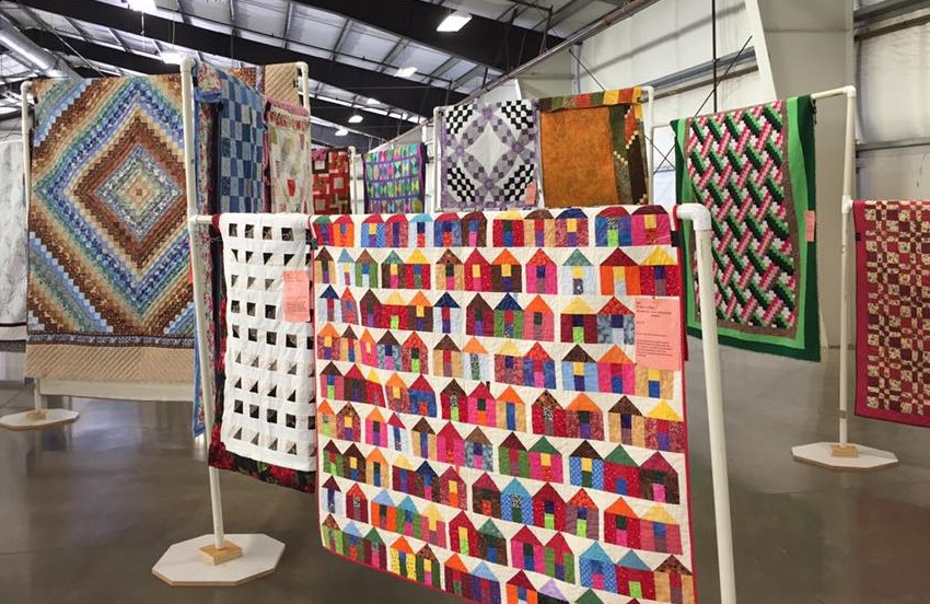 Photo of quilts.