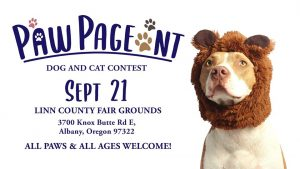Paw Pageant Dog and Cat Contest @ Linn County Fair & Expo Center | Albany | Oregon | United States