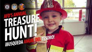 Albany Fire Department's Annual Treasure Hunt