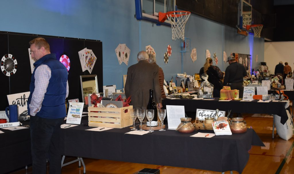 Photo of auction items.