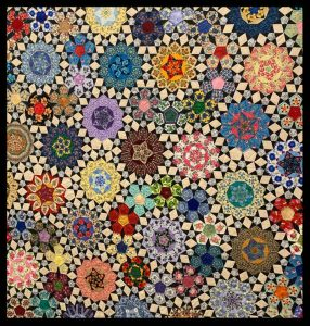 Photo of a Quilt from the 2019 Willamette Valley Quilt Festival