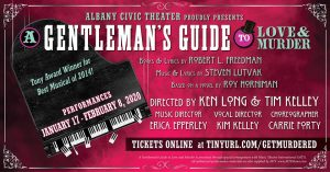A Gentleman's Guide to Love and Murder @ Albany Civic Theater | Albany | Oregon | United States