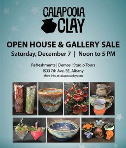 Gallery Sale & Open House @ Calapooia Clay Pottery Studio | Albany | Oregon | United States