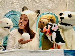 """Snow Soup"" Puppet Show @ Albany Public Library 