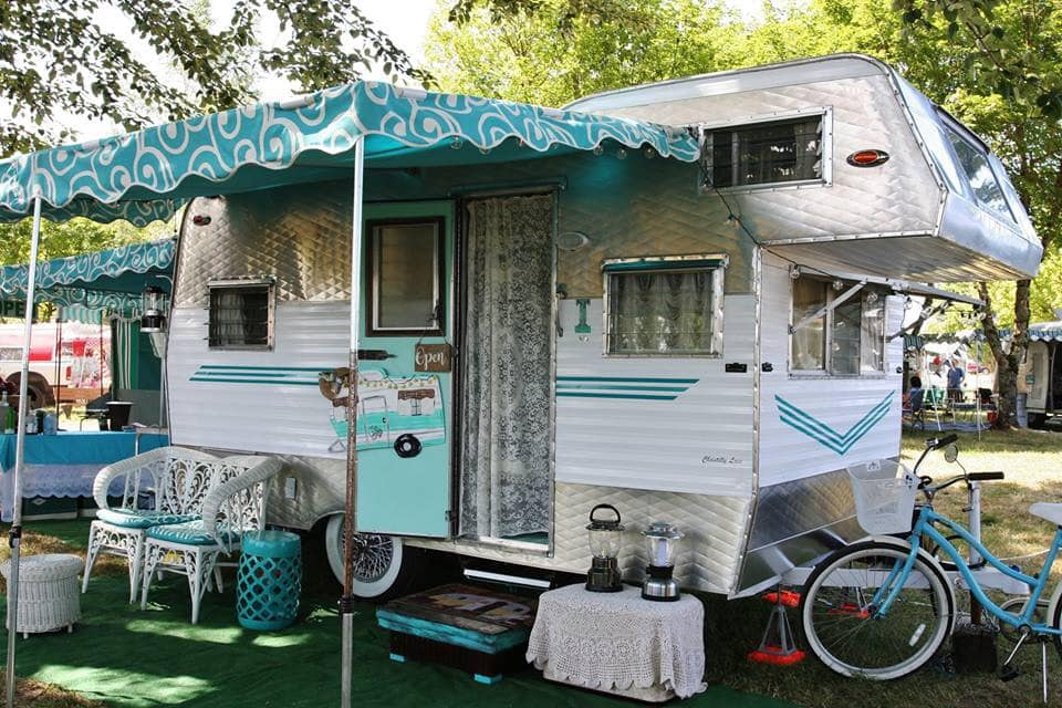 Photo of vintage trailer