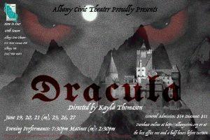 Dracula @ Albany Civic Theater   Albany   Oregon   United States