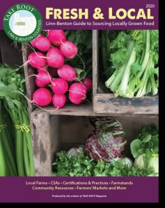 Cover photo of new guide to sourcing fresh and local food in Linn County