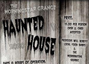 Morningstar Grange Haunted House 2020 @ Morningstar Grange | Albany | Oregon | United States