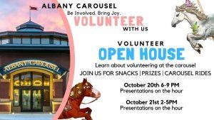 Carousel Volunteer Open House @ Albany Historic Carousel & Museum | Albany | Oregon | United States