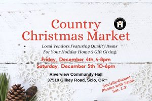 The Penny Cottage Country Christmas Market @ Riverview Community Hall | Scio | Oregon | United States