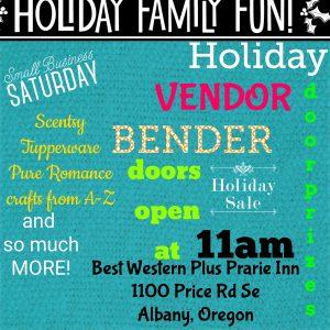 Holiday Gift Vendor Bender @ Best Western Prairie Inn | Albany | Oregon | United States