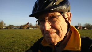 Photo of author Hasso Hering wearing bike helmet