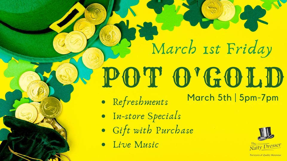 graphic for event entitled Pot O' Gold