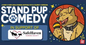 Stand Pup Comedy Night Virtual Event