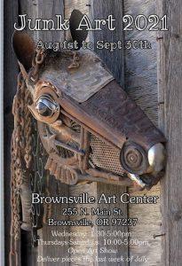 Brownsville Junk Art Sale @ Brownsville Art Center & Gallery | Brownsville | Oregon | United States