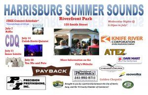 Harrisburg Summer Sounds @ Riverfront Park | Harrisburg | Oregon | United States