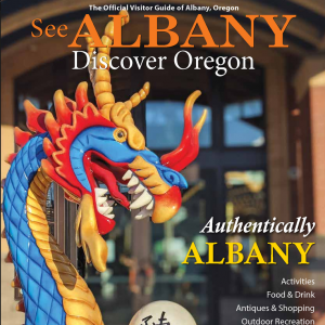 cover Albany Visitors Guide