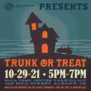 Trunk-or-Treat @ Boys & Girls Club of Albany   Albany   Oregon   United States